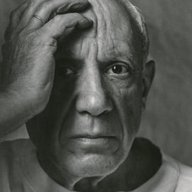 Arnold Newman-Pablo Picasso, Vallauris, France-1954
