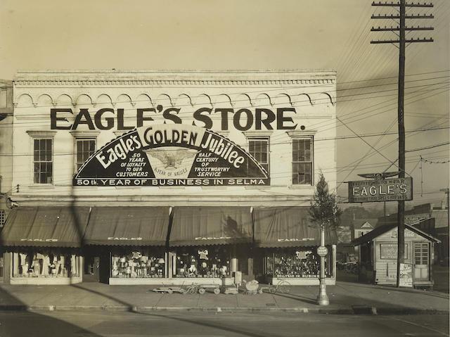 Walker Evans-Storefront, Eagle's Store, Selma, Alabama-1935