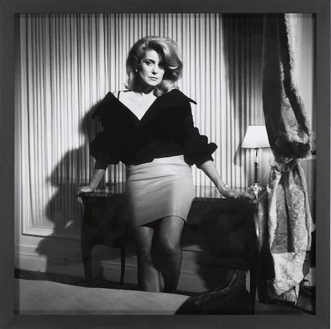 Bettina Rheims-Catherine Deneuve au Georges V, Paris-1988