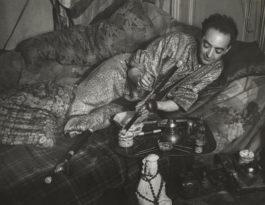 Brassai-Self-Portrait in an Opium Den-1931