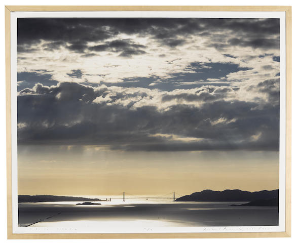 Richard Misrach-Golden Gate Bridge, 2.21.00, 4:38pm-2000
