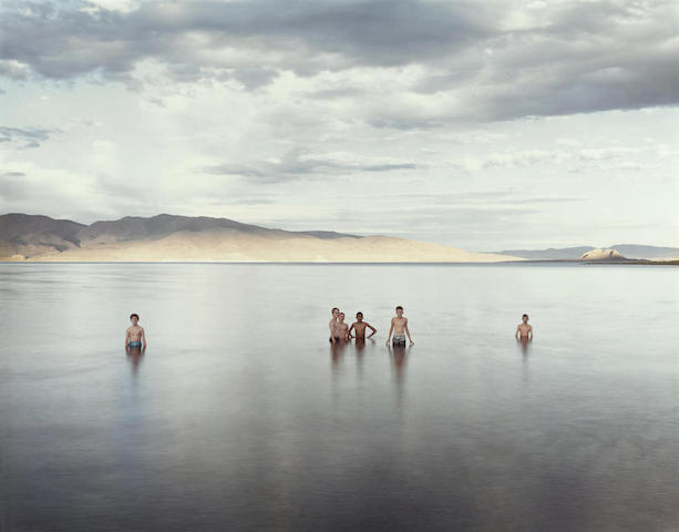Richard Misrach-Boy Scouts, Pyramid Lake Indian Reservation, Nevada-1991