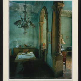 Michael Eastman-Green Dining Room, from Cuba series-2002