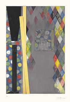 Jasper Johns-Bushbaby-2004
