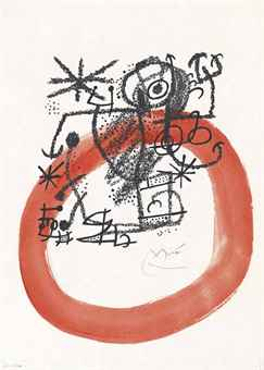 Joan Miro-Les Essencies de la Terra: One Plate-1968