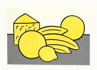 Roy Lichtenstein-Yellow Still Life, from The Six Still Lifes-1974
