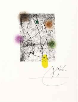Joan Miro-Xavier Domingo, El Innocente, Robert Lydie Dutrou, Paris, 1974-1974