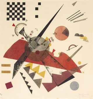 Wassily Kandinsky-Orange-1923