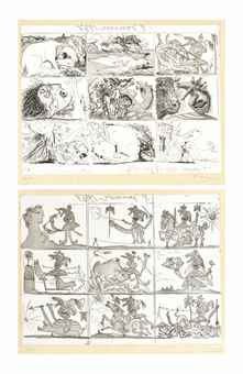 Pablo Picasso-Sueno y Mentira de Franco-1937