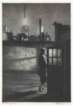 Martin Lewis-Little Penthouse-1931