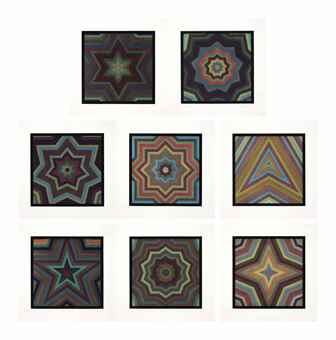 Sol LeWitt-Stars with Color Bands-1993