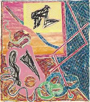 Frank Stella-Shards Variant Ia-1982