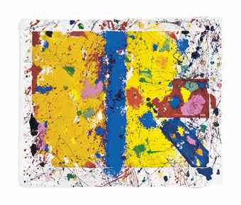 Sam Francis-Self-Acting-1979