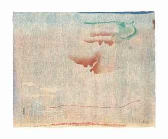 Helen Frankenthaler-Cedar Hill-1983