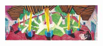 David Hockney-Hotel Acatlan: Two Weeks Later, from Moving Focus-1985