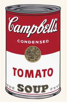 Andy Warhol-Tomato, from Campbell's Soup I-1969