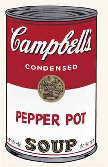 Andy Warhol-Pepper Pot, from Campbell's Soup I-1968