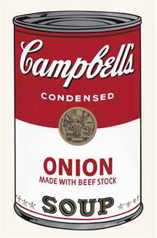 Andy Warhol-Onion, from Campbell's Soup I-1968