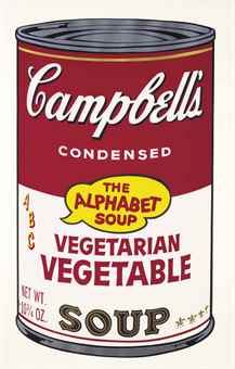Andy Warhol-Vegetarian Vegetable, from Campbell's Soup II-1969