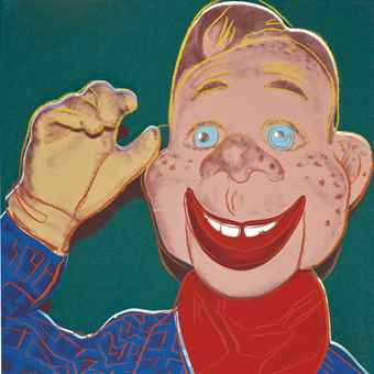 Andy Warhol-Howdy Doody, from Myths-1981
