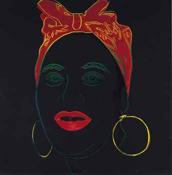 Andy Warhol-Mammy, from Myths-1981