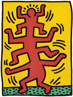 Keith Haring-Growing-1988