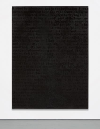 Glenn Ligon-Stranger In The Village #11-1997