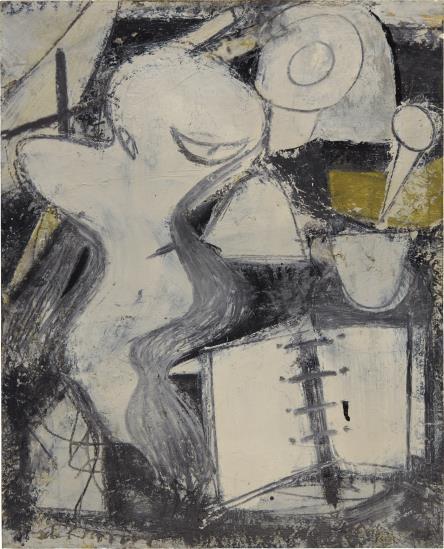 Willem de Kooning-Stenographer-1948
