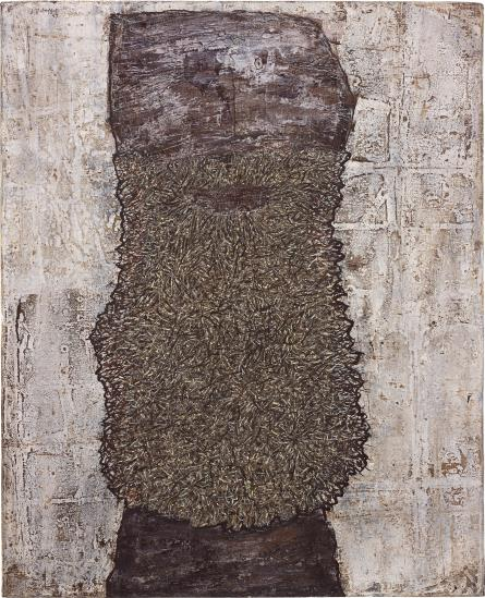 Jean Dubuffet-Barbe Des Rites-1959