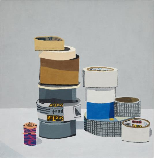 Jonas Wood-Tape Still Life-2008