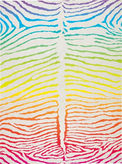 Rob Pruitt-Gay Zebra-2013
