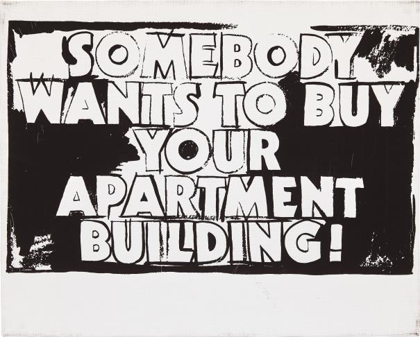 Andy Warhol-Somebody Wants To Buy Your Apartment Building!-1986