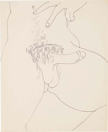 Andy Warhol-Untitled-1957