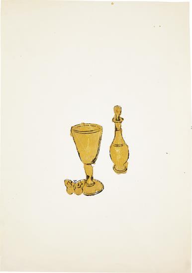 Andy Warhol-Still-Life-1957