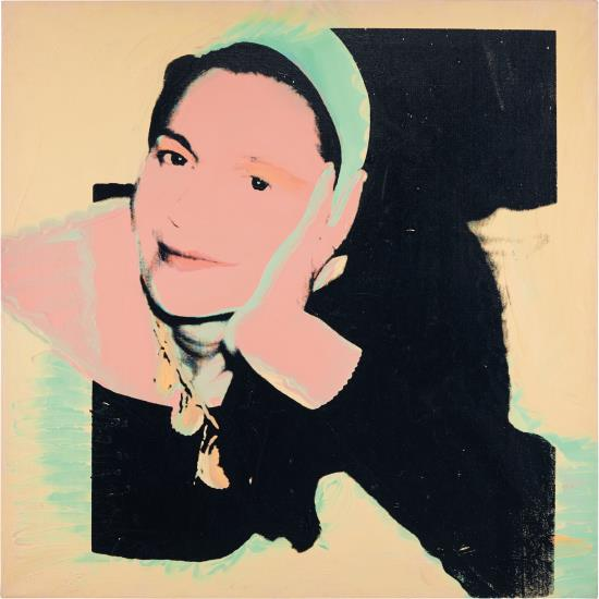 Andy Warhol-Maria-Luise Jennerette-1974
