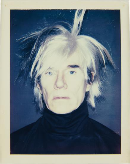 Andy Warhol-Self-Portrait (In Fright Wig)-1986