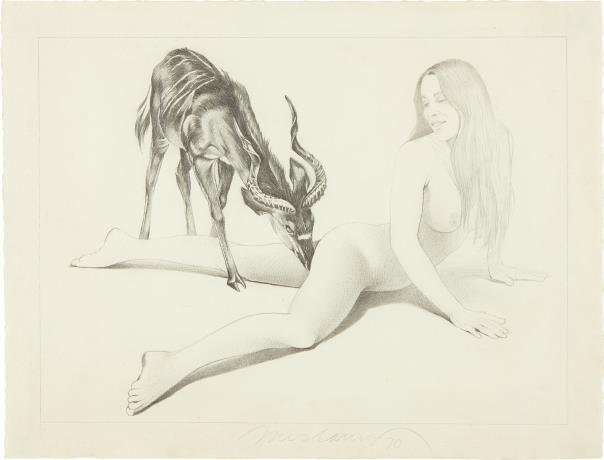 Mel Ramos-Antelope-1970