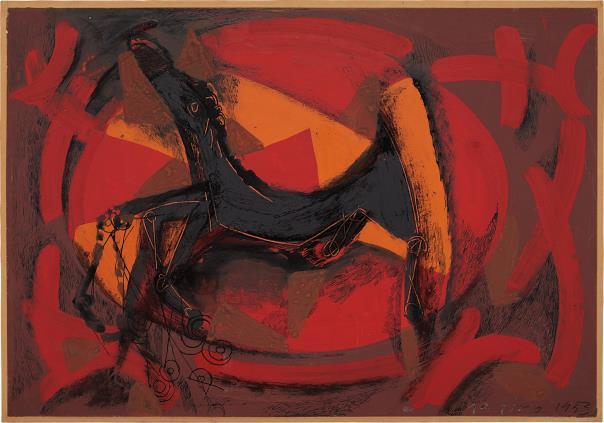 Marino Marini-Cavallo Negro-1953