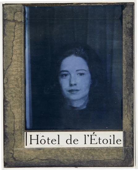 Joseph Cornell-Untitled (Hotel De L'Etoile, Suzanne Miller)-1960