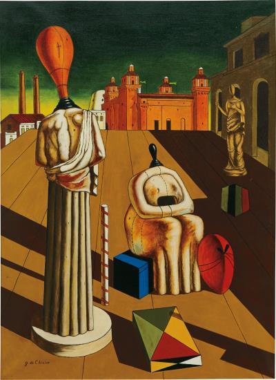 Giorgio de Chirico-Le Muse Inquietanti-1961