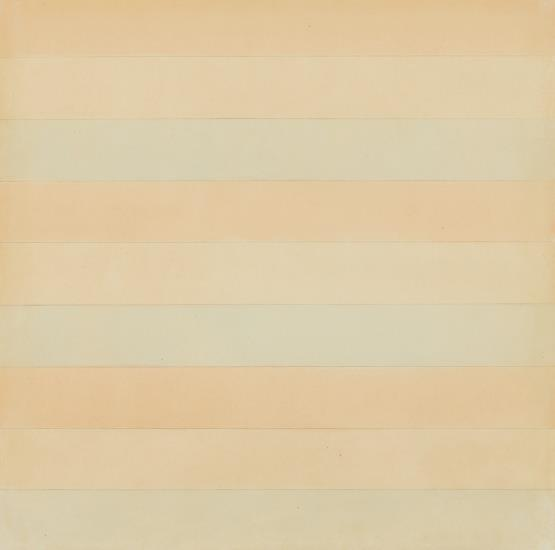 Agnes Martin-Untitled-1977
