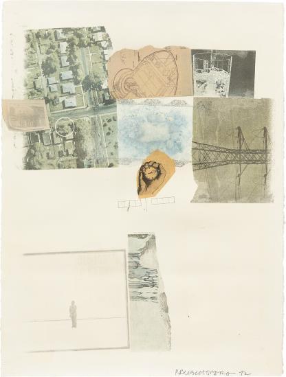 Robert Rauschenberg-Untitled-1972