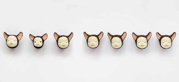 Yoshitomo Nara-Heads-1998