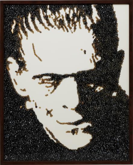 Vik Muniz-Frankenstein (From Caviar Monsters)-2004