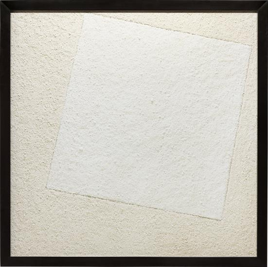 Vik Muniz-Suprematist Composition: White On White, After Kasimir Malevitch (From Pictures Of Pigment)-2007