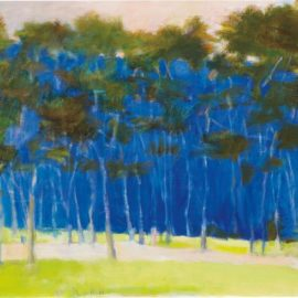 Wolf Kahn-Very Blue-1996