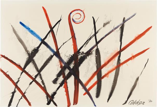 Alexander Calder-Central Frond-1970