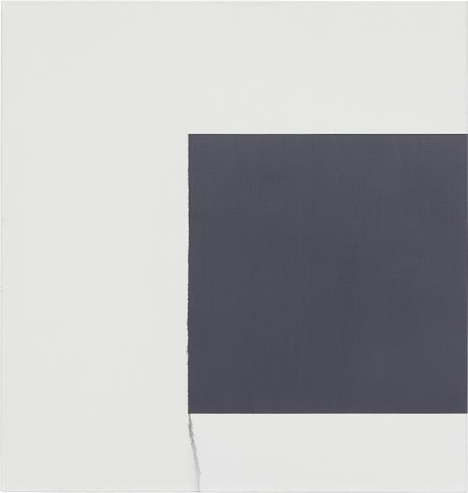 Callum Innes-Exposed Painting, Bluish Grey-2000