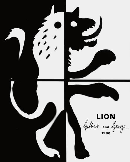 Gilbert and George-Lion-1980