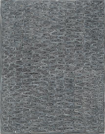 James Siena-Coffered Perforated Combs-2007